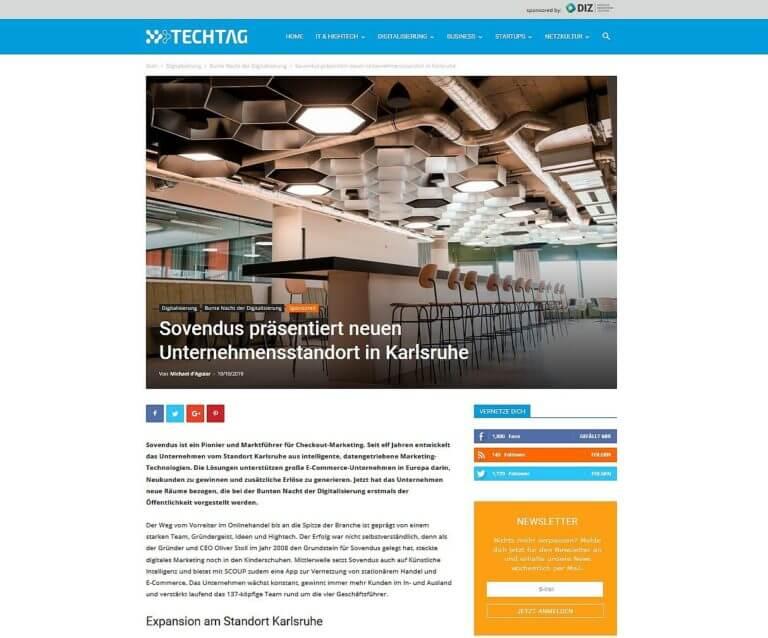 Artikel vom TechTag