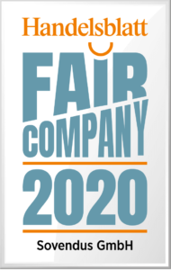 Logo Handelblatt Fair Company 2020