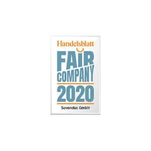 Auszeichnung als Fair Company 2020
